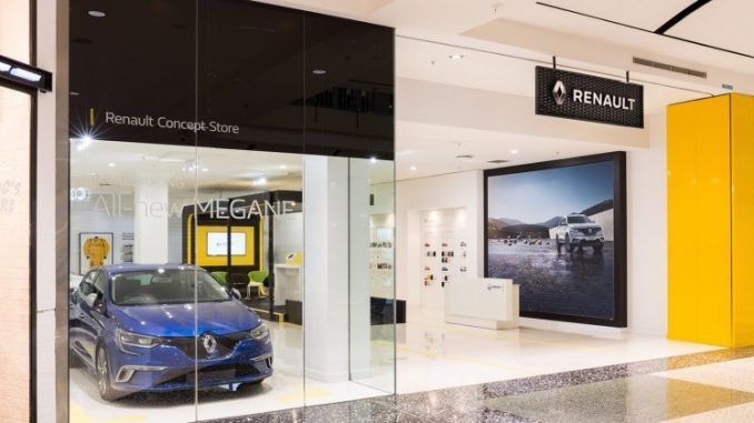 Renault confirms ongoing shopping centre campaign