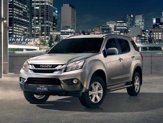 Small number of Isuzu MU-X SUVs recalled