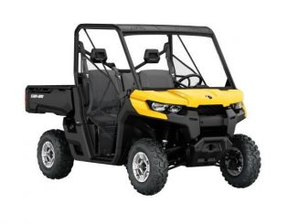 Can-Am Defender recalled to fix transmission issue
