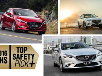 Top safety scores for 2017 Mazda models