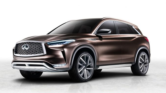 Infiniti gets ready to debut QX50 Concept