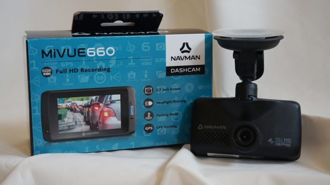 Navman MiVue 660 Dashcam Review