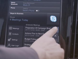 Volvo adds Skype to 2017 models