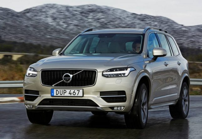 MY17 Volvo cars recalled over airbag issue