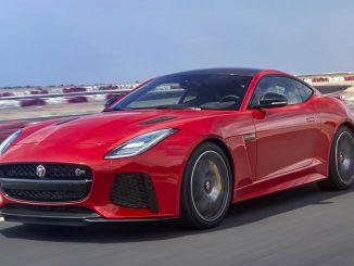 2017 update for Jaguar F-TYPE