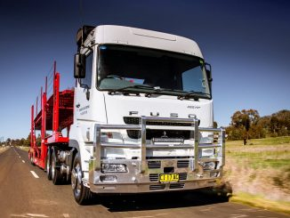 Fuso trucks just the ticket for Tamworth Car Carrying