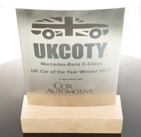 UK Car of the Year for 2017 Mercedes-Benz E-Class