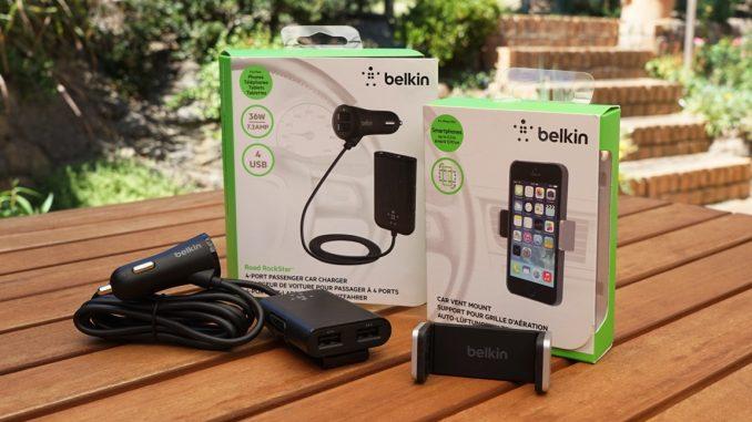 Belkin Road RockStar and Car Vent Mount Review