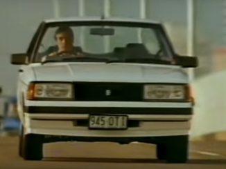 Nissan Bluebird TR-X TV commercial