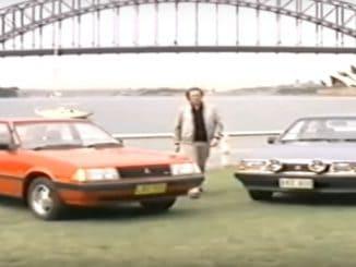 Holden Camira v Mitsubishi Sigma Comparison