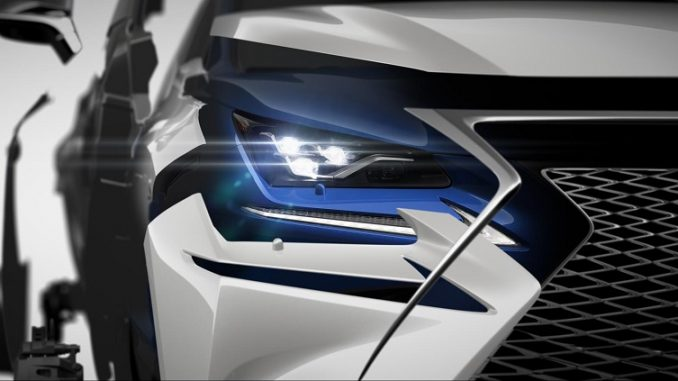 Updated 2018 Lexus NX teased