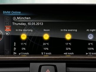 Improved weather data for U.S. BMW cars