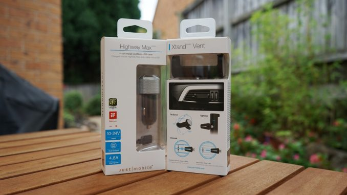 Just Mobile Highway Max and Xtand Vent Review