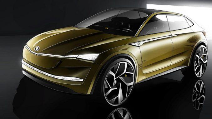 Skoda EV Concept to debut in Shanghai