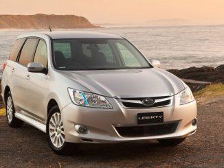 Takata Airbag Recall for Subaru Liberty Exiga