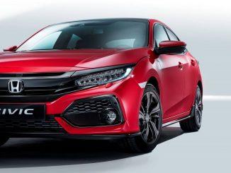 2017 Honda Civic scores top safety rating