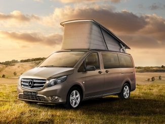 Five-star safety for new Mercedes-Benz camper