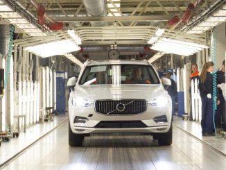 Volvo kicks off 2018 XC60 production