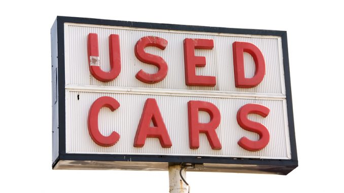 Car buyers turning away from private sales
