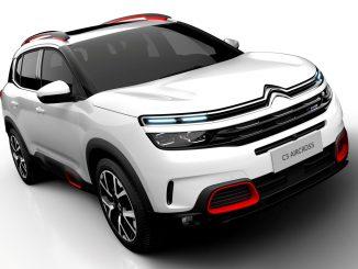 Citroën unveils 2017 C5 Aircross