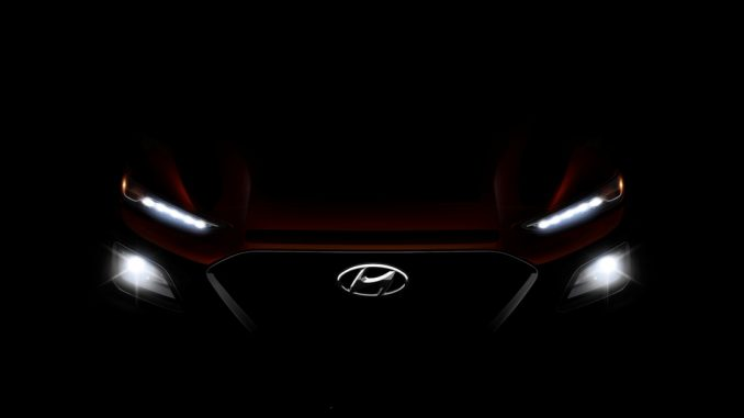 Hyundai reveals more details of the Kona