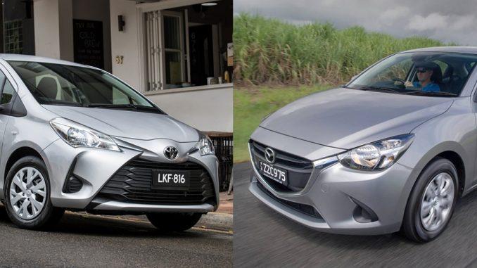 2017 Mazda2 – Toyota Yaris comparison
