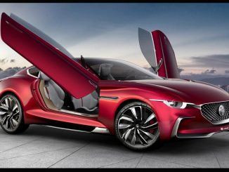 MG unveils electric supercar