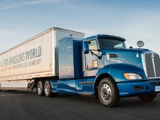 Toyota builds hydrogen fuel cell truck