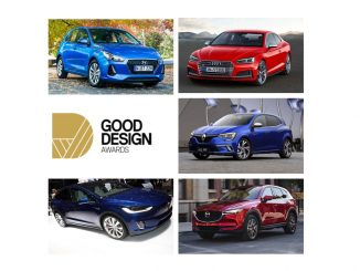 Five cars in hunt for local 2017 Design Awards