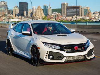2017 Honda Civic Type R on its way