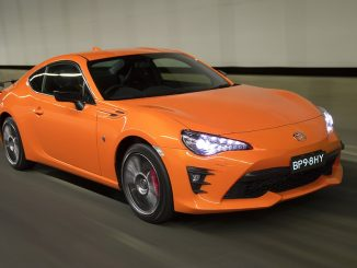 Orange paint for 2017 Toyota 86 limited-edition
