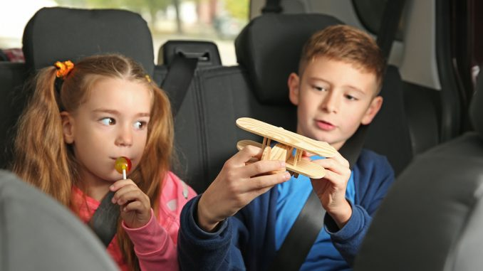 Reasons to keep kids out of the front seat