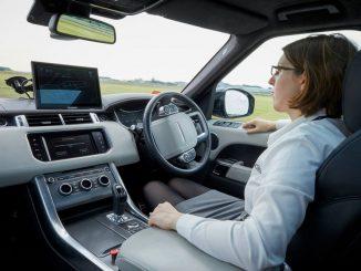 Jaguar Land Rover shows autonomous car tech