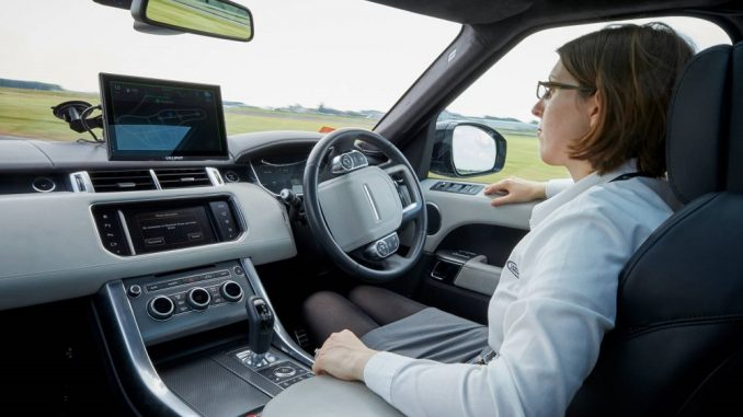 Jaguar Land Rover shows autonomous car tech
