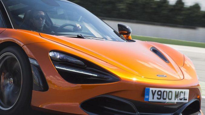 Record sales drive McLaren to profit