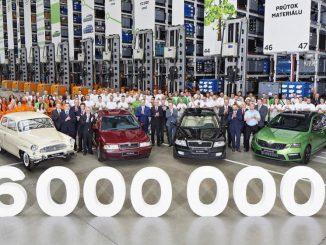 Six-million car milestone for Skoda Octavia