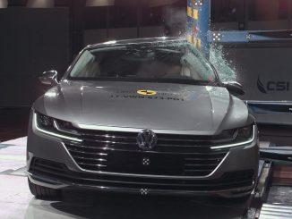 2018 Volkswagen Arteon impresses in crash tests