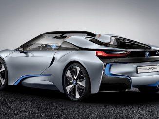 BMW i8 Roadster Teased