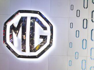 MG car sign logo