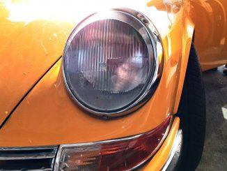 classic porsche car