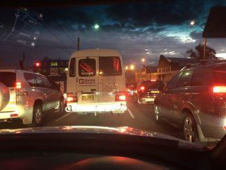sitting in traffic sydney