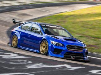subaru wrx lap record nurburgring