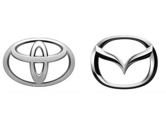 toyota mazda logos