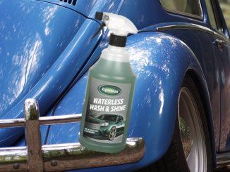 triplewax waterless wash shine