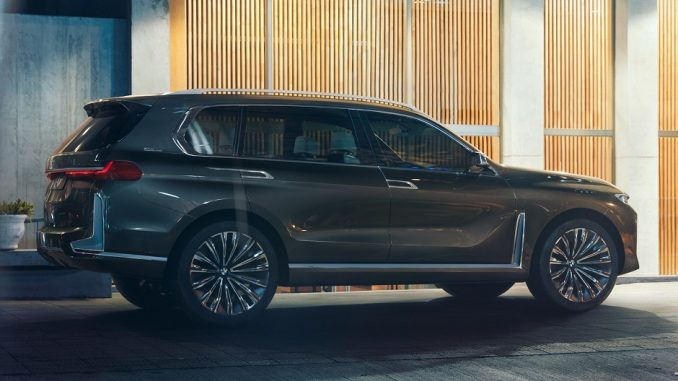 bmw x7 concept side profile