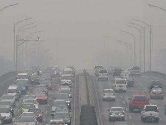 china cars air pollution