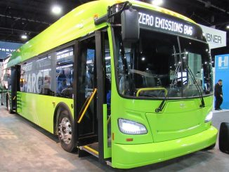 New Flyer of America Electric Transit Bus