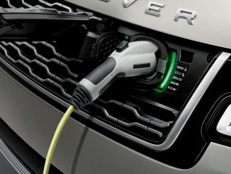 range rover phev charging