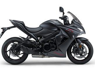 Suzuki GSX-S1000FZ matt black