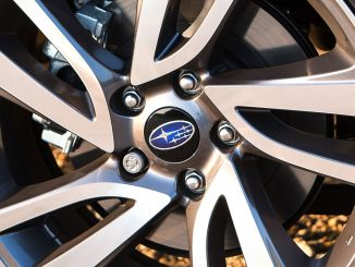 subaru alloy wheel logo